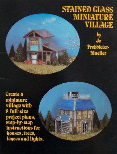 Stained Glass Miniature Village