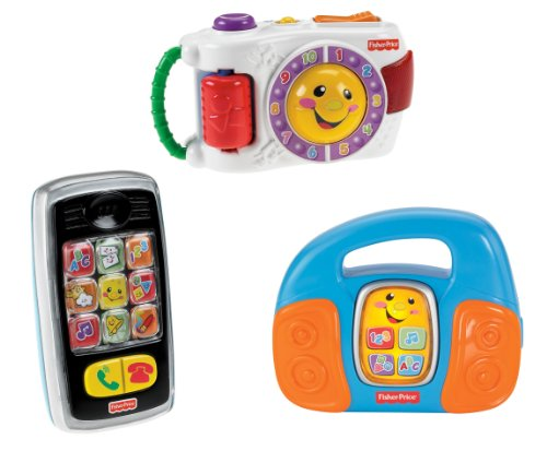 Fisher-Price Laugh And Learn Baby Learning Set, Camera / Phone / Music Player