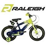 """Raleigh Striker 14"""" Boys Bike - Green..."""