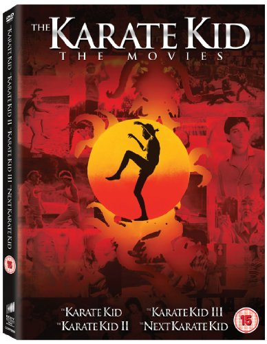 The Karate Kid 1-4 Box Set [DVD] [2010]