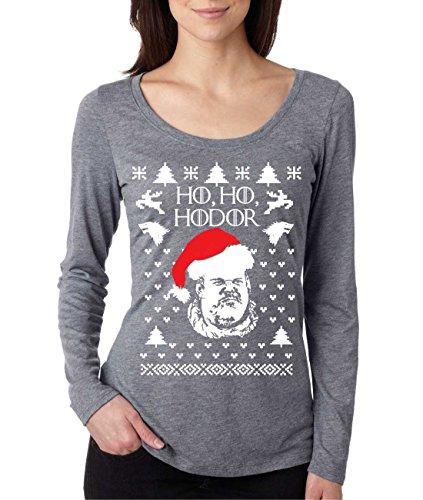 Ho Ho Hodor Ugly Christmas Tee