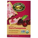 Nature's Path Organic Frosted Toaster Pastries, Cherry Pomegranate, 6-Count Boxes (Pack of 12) ~ Nature's Path