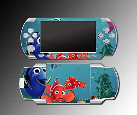 Finding Nemo Marlin movie game Decal Cover SKIN for Sony PSP 1000 Playstation Portable