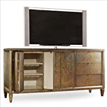 Hot Sale Hooker Furniture Sanctuary Four-Door Three-Drawer Console Table in Visage