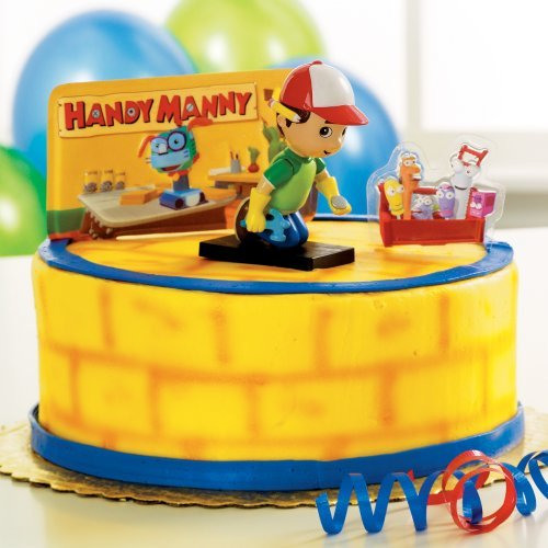 Handy manny cakes for Handy manny decorations