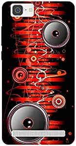 The Racoon Lean Let the Music Flow Through You hard plastic printed back case / cover for Vivo X5 Max