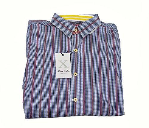 robert-graham-clyde-tailored-fit-blue-long-sleeve-medium-shirt