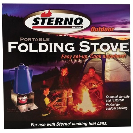 Sterno Single Burner Folding Stove - 50012