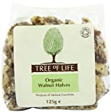 Tree of Life Walnuts Halves 125 g (Pack of 6)
