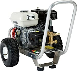 Pressure Pro E3027HG Heavy Duty Professional 2,700 PSI 3.0 GPM Honda Gas Powered Pressure Washer With General Pump (CARB Compliant)
