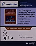 img - for Aplia(TM), 1 term Printed Access Card for Janda's The Challenge of Democracy Essentials: American Government in Global Politics, 9th book / textbook / text book