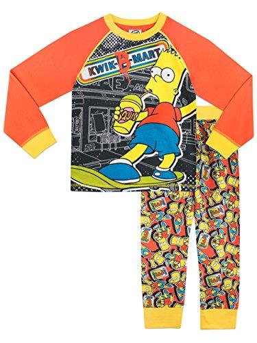 simpsons-ensemble-de-pyjamas-bart-simpson-garcon-11-a-12-ans