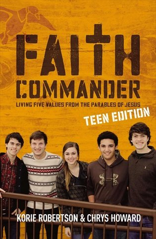 Zondervan 128480 Curriculum Kit Faith Commander Teen Edition Study Guide With Dvd May