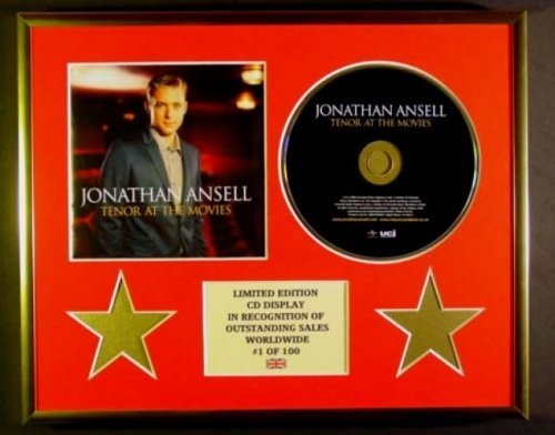 jonathan-ansell-cadre-cd-edition-limitee-certificat-dauthenticite-tenor-at-the-movies