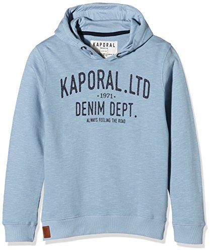 Kaporal Gook-Felpa Con Cappuccio Bambino, Azzurro (Cloud), 14 anni