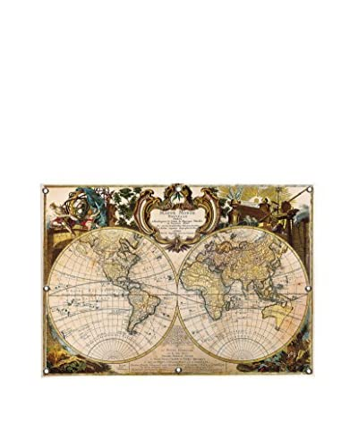 Ginger Mappe Monde Nouvelle Canvas Wall Mural