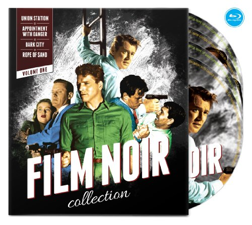 Film Noir Collection: Volume One (Union Station / Appointment with Danger / Dark City / Rope of Sand) [Blu-ray]