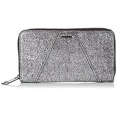 [ディーゼル] DIESEL レディース 財布 INDUSTRIAL GRANATO - wallet X03547PR2130074UNI PR213T9002 (シルバー/)