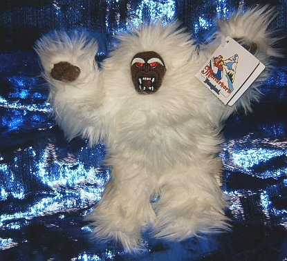 Disney Pixar Monsters  Inc Deluxe Abominable Snowman YETI Plush ToyAbominable Snowman Matterhorn