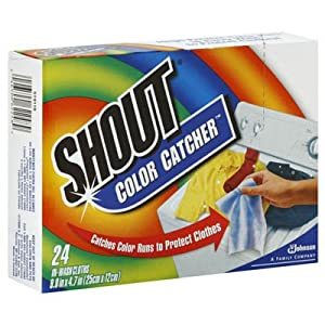 Johnson Wax 62248 Shout Color Catcher - Case of 12