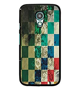 PrintDhaba Pattern D-5455 Back Case Cover for MOTOROLA MOTO G2 (Multi-Coloured)