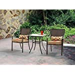 4 Person Cast Aluminum Deep Seating Patio Set With Fire Pit Table Outdoor Furniture
