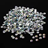 10,000pc bulk 3mm 10ss AB Crystal Loose Rhinestone Hot Fix (Color: Clear / Crystal)