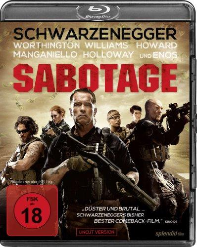 Sabotage - Uncut [Blu-ray]