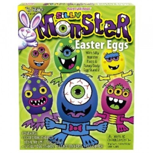 Silly Monsters Easter Unlimited Easter Egg Dye Kits R.J Rabbit