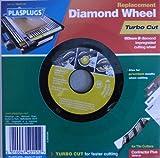 Plasplugs TBDW150 Turbo Cut Diamond Wheel for DWW150 Contractor Plus