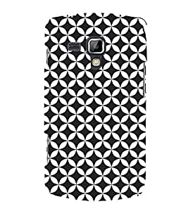 Self Black Design 3D Hard Polycarbonate Designer Back Case Cover for Samsung Galaxy S Duos 2 S7582