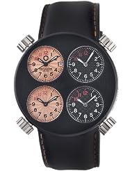 Meccaniche Veloci Men's W103CR_123 Quattro Valvole Four Time Zone Watch