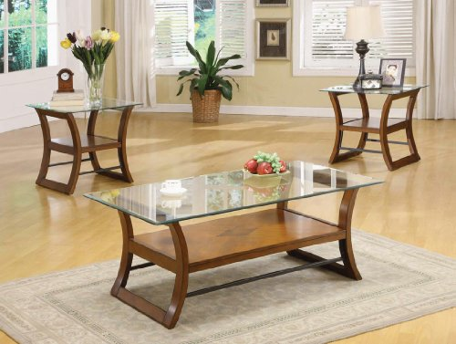 Cheap OCCASIONAL TABLE COLLECTION COFFE END BRIDGE 3 PIECE SET (B008W1AYXW)