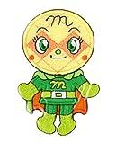 稲垣服飾 アンパンマンBIGワッペン ANX002 メロンパンナちゃん