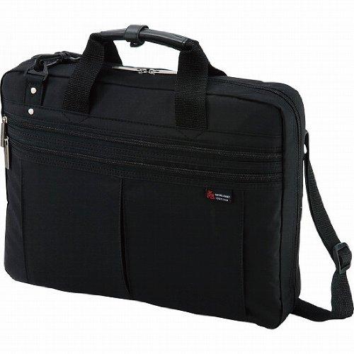 パソコン対応 ソフトビジネスバッグ ブラック