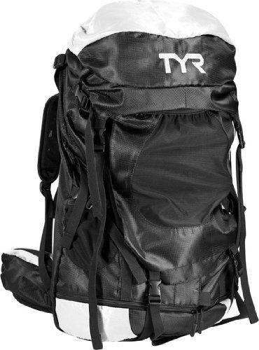 TYR Elite Convoy Transition Backpack - White/Black