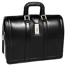 McKleinUSA MORGAN 83345 Black 17 Litigator Laptop Brief