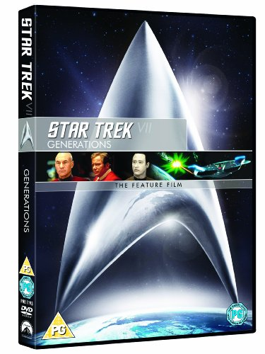 Star Trek 7: Generations (remastered) [DVD]
