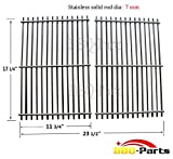 bbq-parts 9930 BBQ Stainless Steel ROD Replacement Cooking Grill Grid Grate for Weber 9930 Ducane Lowes Model Grills, Sold As A Set of 2
