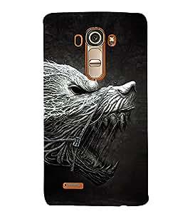 Cruel Animal Design 3D Hard Polycarbonate Designer Back Case Cover for LG G4 :: LG G4 H815