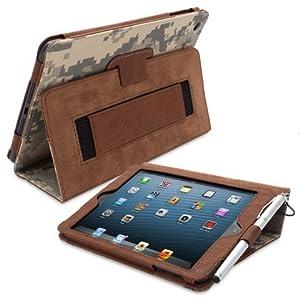 Snugg® iPad Mini & Mini 2 Case - Smart Cover with Flip Stand & Lifetime Guarantee (Digital Camo Leather) for Apple iPad Mini & Mini 2 with Retina