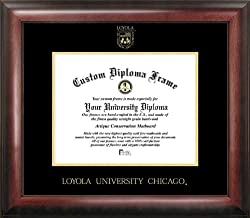 Loyola University Gold Embossed Medallion 18x14 Diploma Frame
