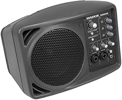 Package: (2) Mackie SRM150 Powered (Class D Amp) Professional Personal Monitor/Speakers With Built In Equalizer + (2) Mackie SRM150 Speaker Soft Travel Bags