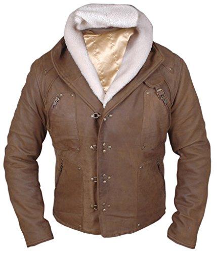 F&H Men's Wolfenstein Brian Bloom Jacket M Brown