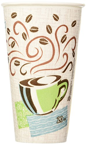 Dixie Perfectouch Insulated Paper Hot Cup Coffee Haze