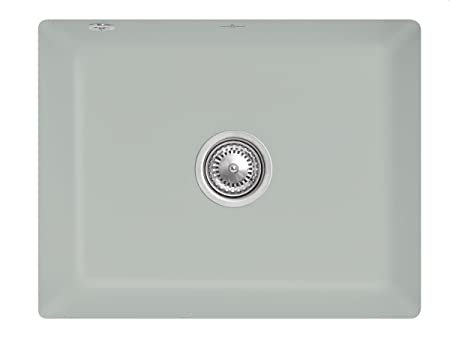 Villeroy & Boch Subway 60Ceramic Sink Grey Fossil Su Undermount Sink Kitchen