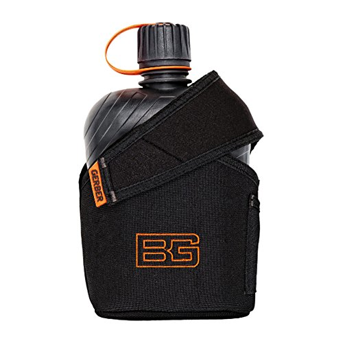 Gerber 31-001062 Bear Grylls Canteen Water Bottle with Cooking Cup picture