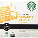 Starbucks Veranda Blend Blonde, K-Cup for Keurig Brewers, 16 Count