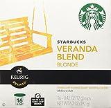 Starbucks Veranda Blend Blonde, K-Cup for Keurig Brewers, 16 Count
