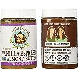 Almond butter 2 pack: vanilla espresso + chocolate sunflower seed